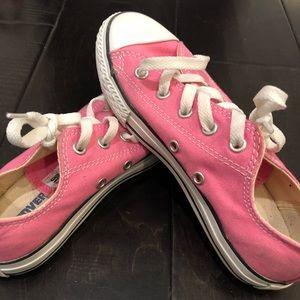 Pink converse